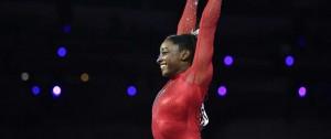 Portal 180 - Simone Biles logró el oro en salto e igualó el récord de medallas mundiales