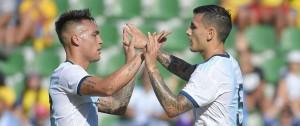 Portal 180 - Argentina goleó 6-1 a Ecuador