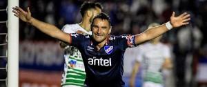 Portal 180 - Nacional le ganó a Plaza con dos goles de Bergessio