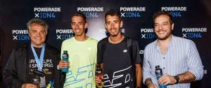Portal 180 - Powerade ION4 hidrató a los participantes de la carrera San Felipe y Santiago