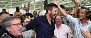 Portal 180 - Marcelo Tinelli fue electo presidente de San Lorenzo