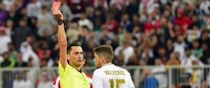 Portal 180 - Fede Valverde sancionado con un partido por su expulsión en la Supercopa