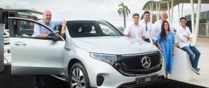 Portal 180 - Mercedes-Benz presentó su primer SUV 100% eléctrico en el America Business Forum