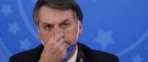 Portal 180 - Desaprobación de Bolsonaro crece por su gestión ante coronavirus