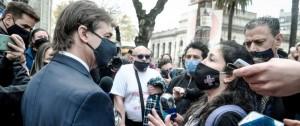 Portal 180 - Las imágenes de la protesta en Facultad de Medicina