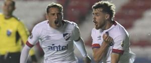 Portal 180 - Nacional ganó y terminó primero en su grupo de Libertadores