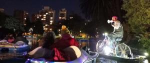 Portal 180 - Kodama: el teatro negro embarca en el Lago del Parque Rodó