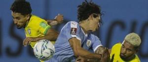 Portal 180 - Uruguay perdió ante Brasil y quedó en zona de repechaje