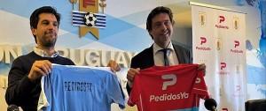 Portal 180 - PedidosYa nuevo patrocinador oficial de la Selección Uruguaya