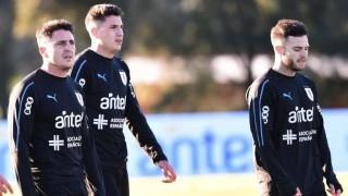 Las imágenes del primer entrenamiento de Uruguay | 180