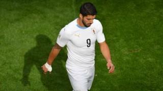 Este miércoles Suárez cumplirá 100 partidos con Uruguay | 180