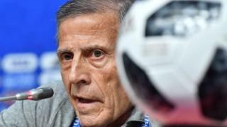 Tabárez consciente de que Uruguay no ha rendido al nivel que puede tener | 180