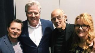 Elenco de Volver al Futuro se reunió a 33 años del estreno | 180