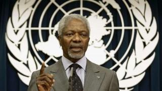 "Murió Kofi Annan, el secretario general de la ONU que fue ""estrella"" de la diplomacia | 180"