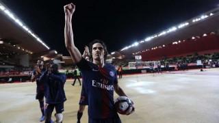 PSG goleó al Mónaco con tres de Cavani | 180