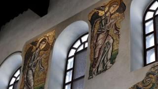 Las imágenes de la restauración de los mosaicos en la Iglesia de la Natividad, en Belén | 180