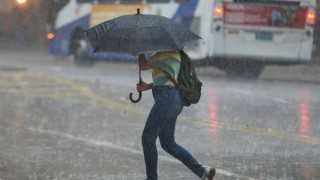 Advertencia naranaja en casi todo el país por tormentas y lluvias | 180
