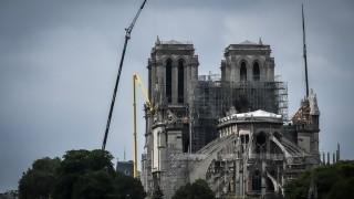 Encuentran la estatua de un ángel de la bóveda de Notre Dame | 180