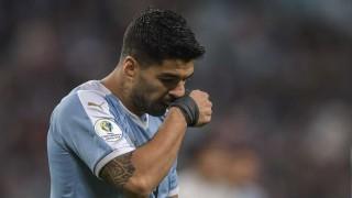 Uruguay descarta lesión en mano de Suárez y es optimista con vuelta de Laxalt en fase final | 180