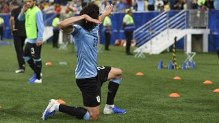 Las mejores fotos de la victoria de Uruguay contra Chile | 180