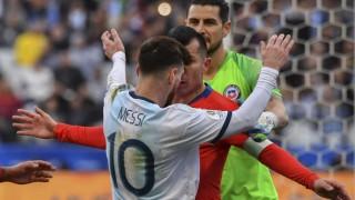 Messi fue expulsado por segunda vez en su carrera | 180