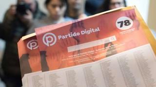 Partido Digital gastó 7.662 dólares en la campaña para las internas | 180