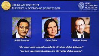 Tres economistas ganan Nobel por trabajos sobre la pobreza | 180