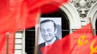 Vázquez participó de las honras fúnebres a Eduardo Bleier | 180