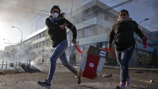 Las imágenes del fin de semana de protestas en Chile | 180