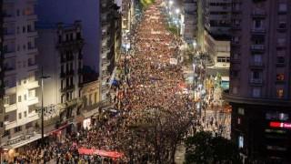Una multitud marchó en contra de la reforma Vivir sin miedo | 180
