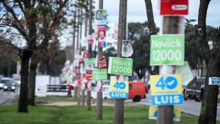 Ningún partido cumplió normativa sobre cartelería política | 180