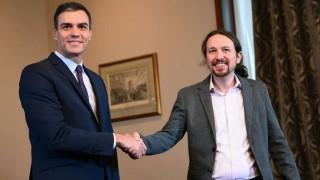 Socialistas y Podemos alcanzan preacuerdo para formar gobierno en España | 180
