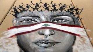 Los coloridos y variados grafitis de la rebelión en Beirut | 180