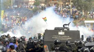 Suman 23 los muertos en casi un mes de convulsión social en Bolivia, según la CIDH | 180
