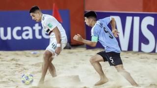 Uruguay debutó con victoria en la hora ante México en el Mundial de Fútbol Playa | 180