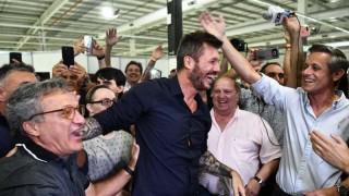 Marcelo Tinelli fue electo presidente de San Lorenzo | 180