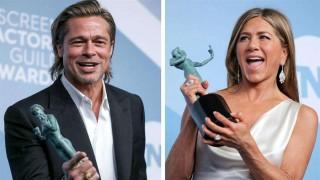 Brad Pitt y Jennifer Aniston acaparan el protagonismo en los premios SAG | 180