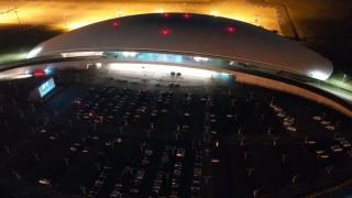 Se inaugura AeroLife, el nuevo autocine en el Aeropuerto de Carrasco | 180