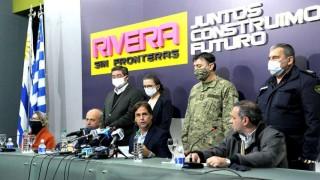 Gobierno refuerza medidas sanitarias en Rivera | 180