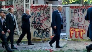 Trump amenaza con desplegar el ejército si continúan los disturbios en EEUU | 180