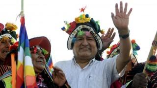Desde el destierro, Evo Morales apuntala a su partido en la campaña electoral | 180