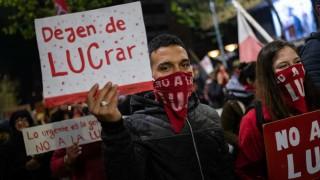 Las imágenes de la marcha contra la LUC | 180