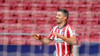 Suárez debuta con dos goles en el Atlético | 180