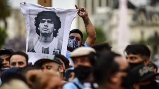 Multitudinario adiós a Diego en Casa Rosada | 180