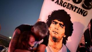 Las imágenes de la despedida a Diego Maradona | 180