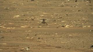 Helicóptero Ingenuity hace historia al volar con éxito en Marte | 180