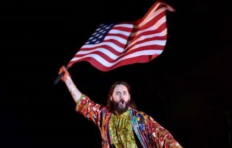 """Portal 180 - Jared Leto: """"creo que Estados Unidos necesita recuperar la confianza del mundo"""""""