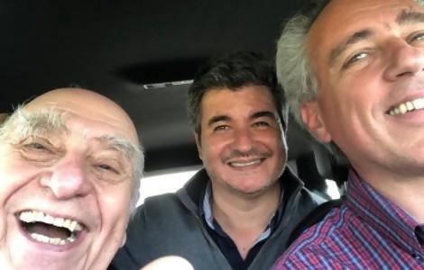 """Portal 180 - """"Hace seis meses Sanguinetti no se hubiera sacado una selfie sonriendo, con sus cejas"""""""