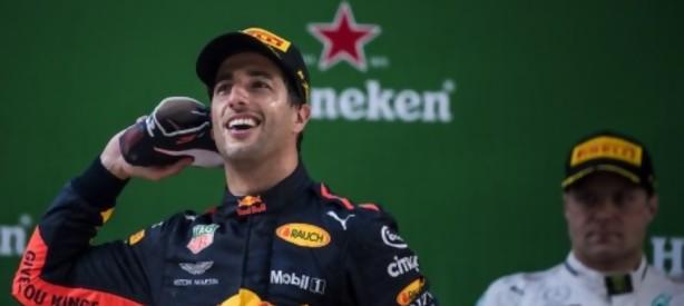 Portal 180 - El australiano Ricciardo ganó el Gran Premio de China de F1