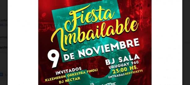 Portal 180 - La Imbailable Cumbia Orquesta presenta la Fiesta Imbailable del año